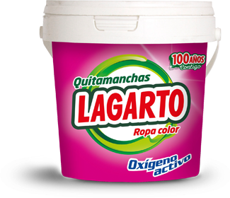Quitamanchas lagarto oxi color 600gr