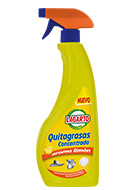 QUITAGRASAS CONCENTRADO LAGARTO LIMON 750ml